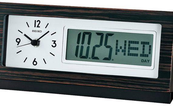 Настольные часы Seiko Clock QXL011B